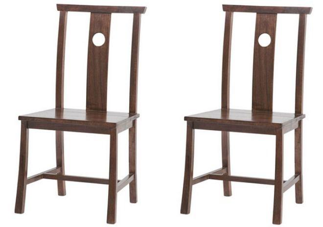 ghế được làm từ gỗ óc chó