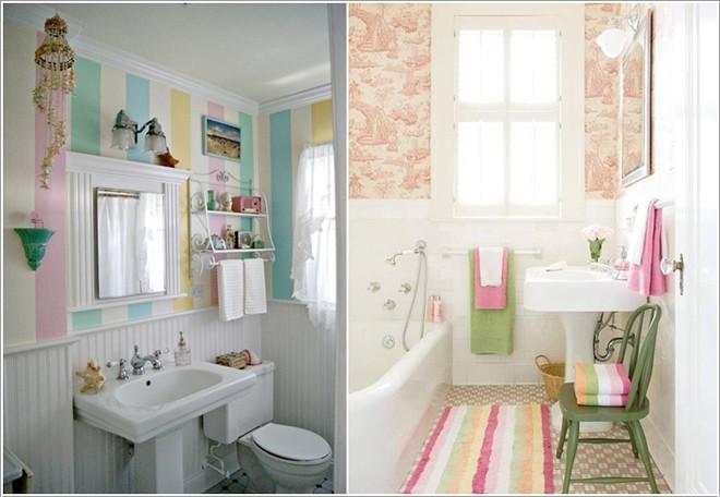 01968767 dfa5 Một chút thay đổi đơn giản cũng có thể làm mới nhà tắm nhỏ của bạn
