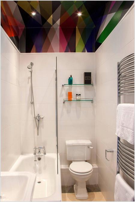 01968776 eb18 Một chút thay đổi đơn giản cũng có thể làm mới nhà tắm nhỏ của bạn