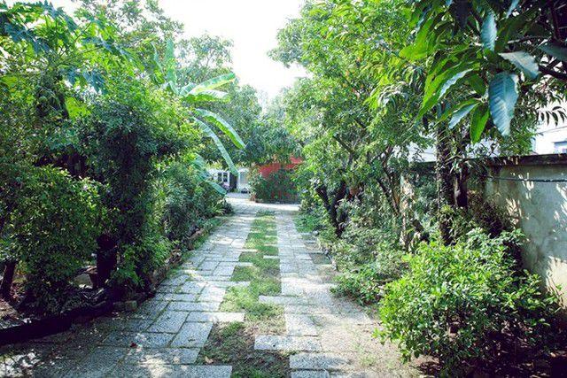 ben bo song cua gia dinh 1970300 33d0 Không khí lãng mạn trong căn nhà vườn của gia đình Dương Trương Thiên Lý