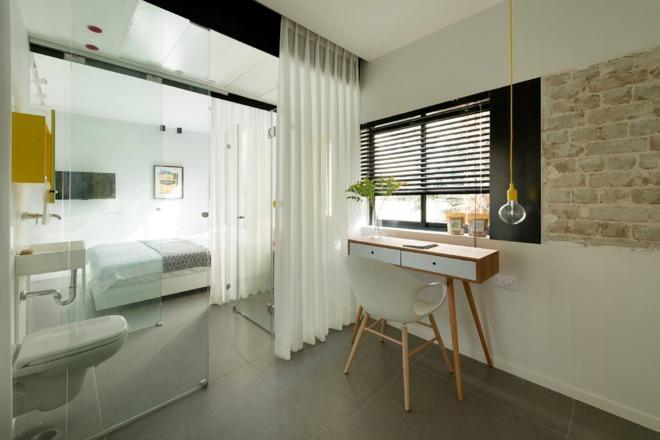 Phòng tắm thiết kế mở