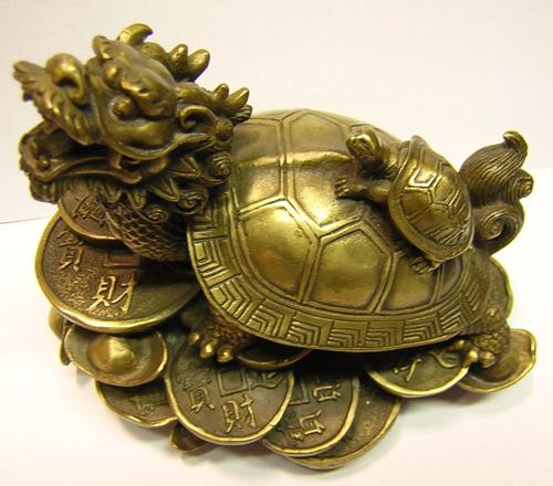 tượng rùa đầu rồng
