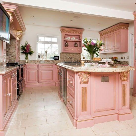 tngay1120150602172624012 9ff1 Chị em nội trợ sẽ ngất ngây với những gian bếp màu hồng