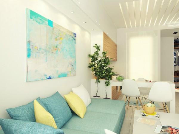 Phòng khách hiện đại, thanh lịch