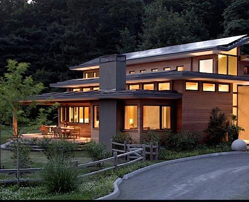 nhà dùng pin mặt trời
