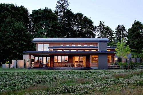 nhà đẹp dùng pin mặt trời