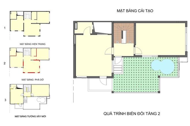 075364 4694 Thủ thuật thông minh giúp cải tạo nhà 3 tầng với 500 triệu đồng