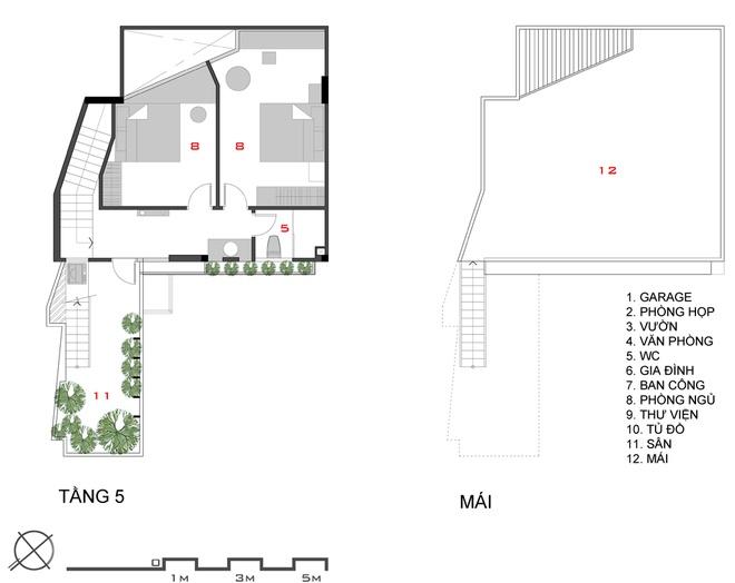 085962 436d Chiêm ngưỡng mãu thiết kế nhà đẹp trên mảnh đất có thế gây khó dễ