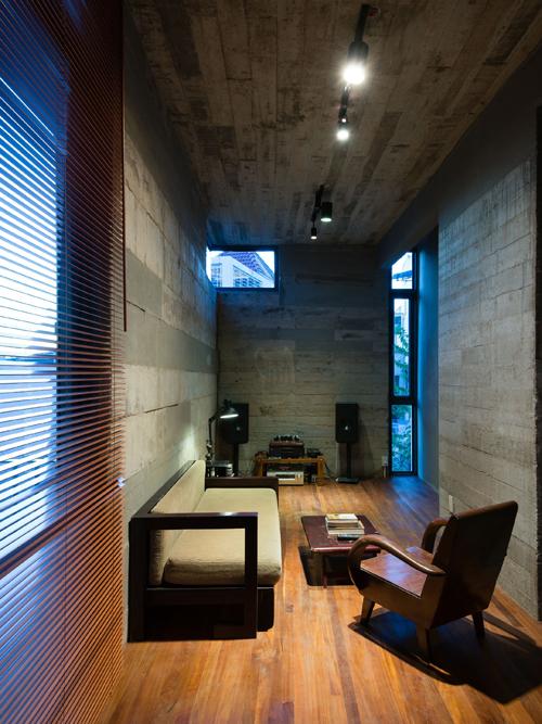 5970 8da8 Chiêm ngưỡng mãu thiết kế nhà đẹp trên mảnh đất có thế gây khó dễ