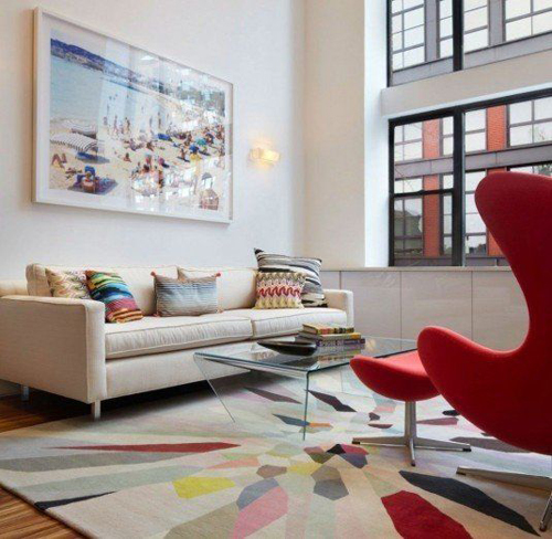 53 1f11 Phòng khác sống động với thảm nhiều màu