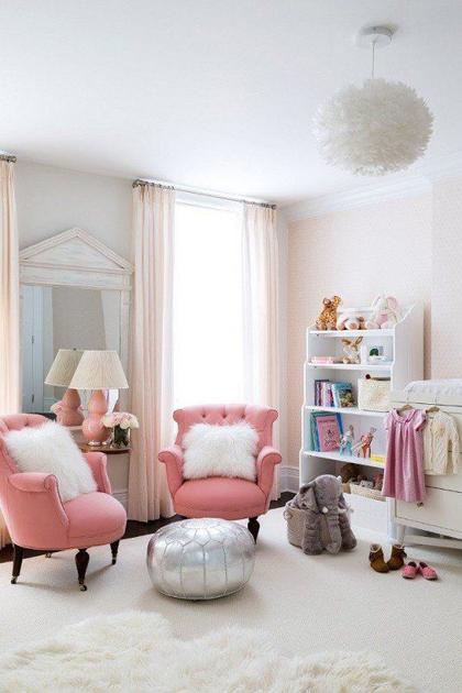 48 018d Thêm màu hồng vào giúp cho ngôi nhà tăng thêm phần lãng mạng