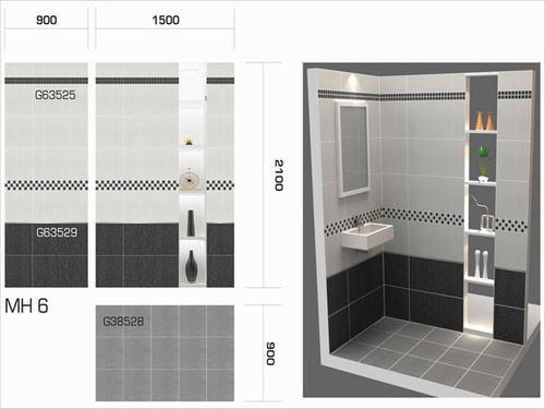Những lưu ý khi chọn gạch ốp nhà tắm