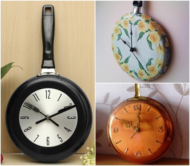 Chảo… đồng hồ? Một ý tưởng tuyệt vời cho không gian nhà bếp!