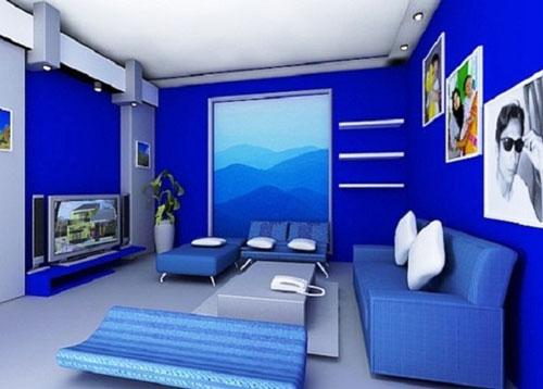 Cách phối sắc xanh cho ngôi nhà thêm đẹp