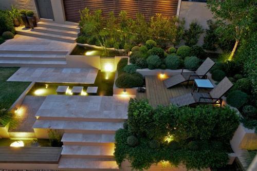 Đèn Led tạo không gian lãng mạn cho khu vườn