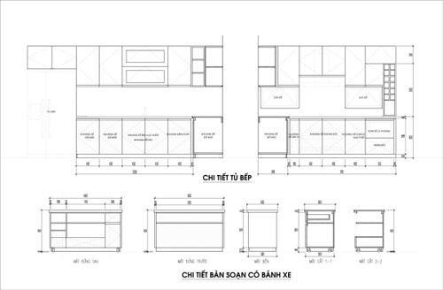 70 bb0d Thích thú với không gian bếp rộng rãi với tủ bếp liên hoàn