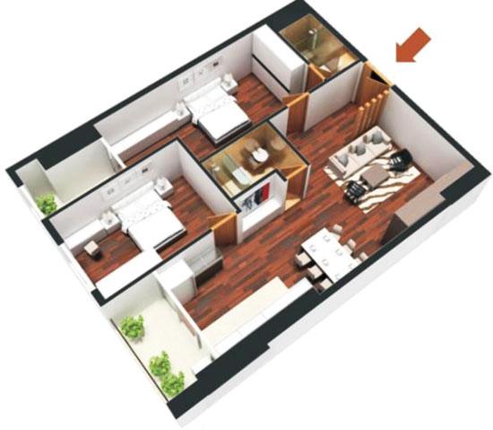 chọn mua chung cư theo phong thủy