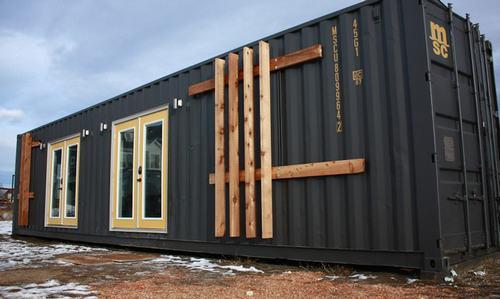 thiết kế nhà container đẹp