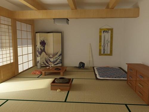 phòng ngủ của người Nhật