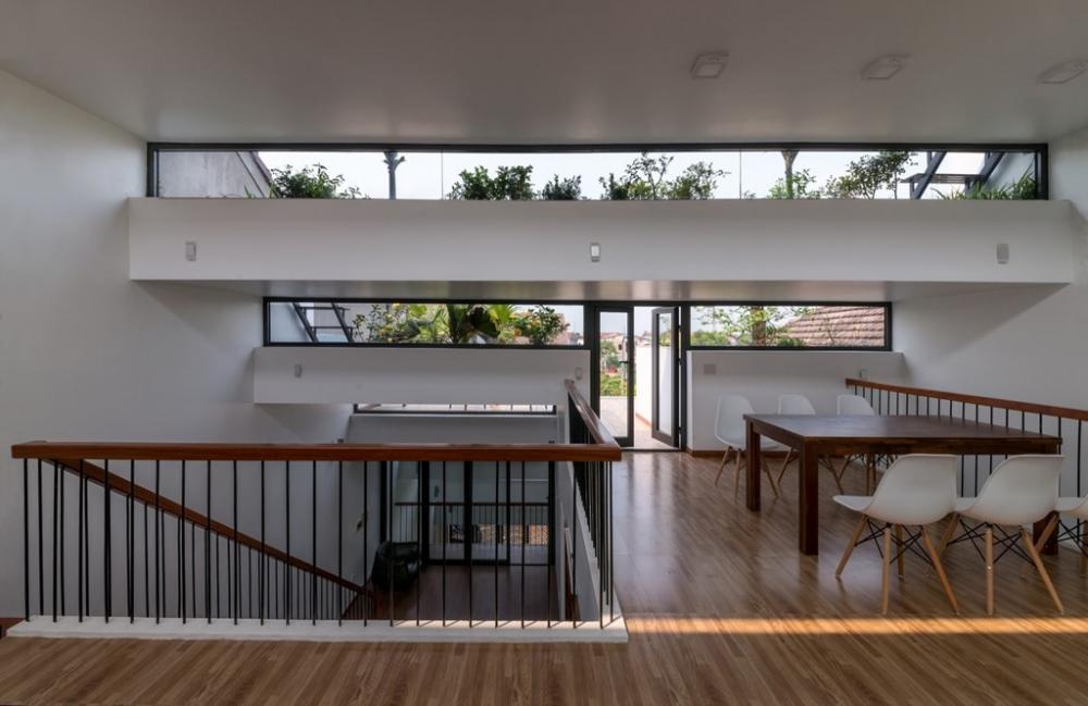 Thiết kế xếp bậc giúp căn nhà