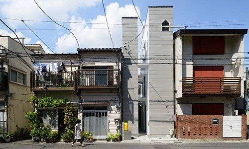 nhà ống kiểu Nhật