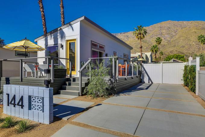 Nhà cấp 4 diện tích 55m2 ở Mỹ tiện nghi như villa nhỏ