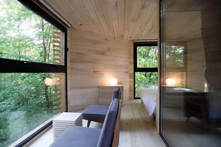 ngôi nhà gỗ độc đáo