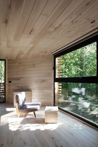 căn nhà gỗ