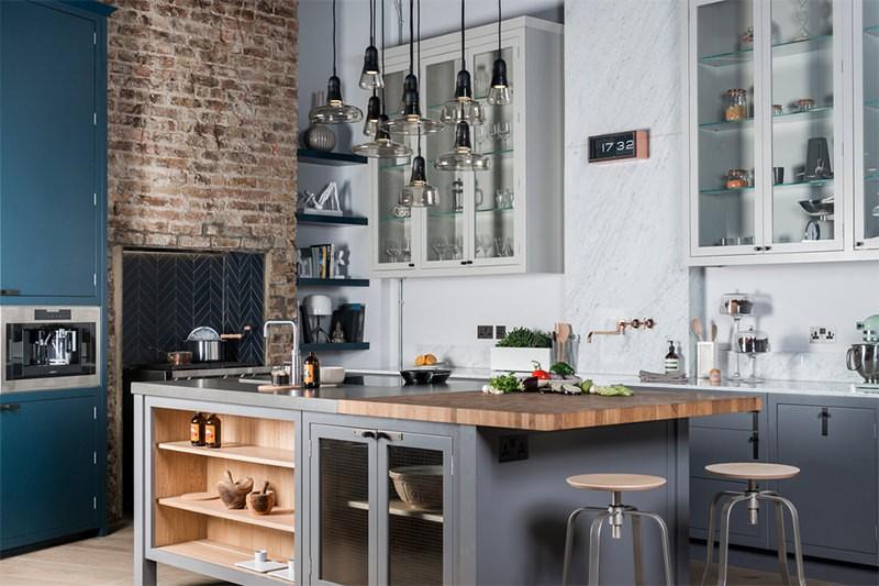 không gian bếp nấu đẹp