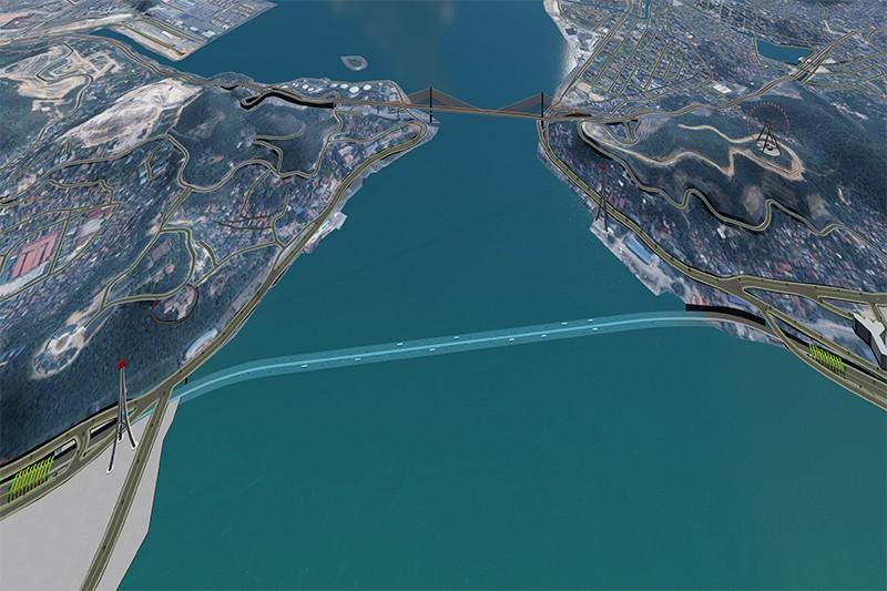 Hầm đường bộ vượt eo biển Cửa Lục