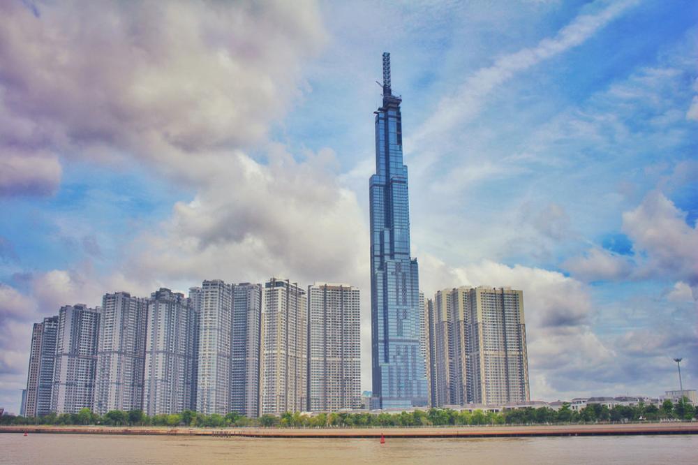 Tòa tháp The LandMark 81 lọt  top 10 cao ốc chọc trời trên thế giới.