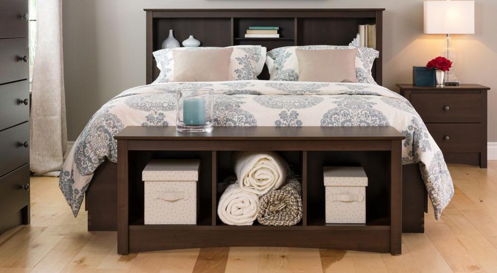 Giường ngủ bằng gỗ luôn được ưa chuộng
