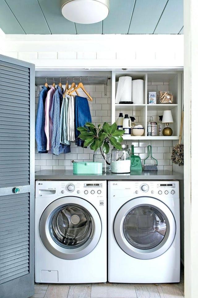 nhà kho thành phòng giặt