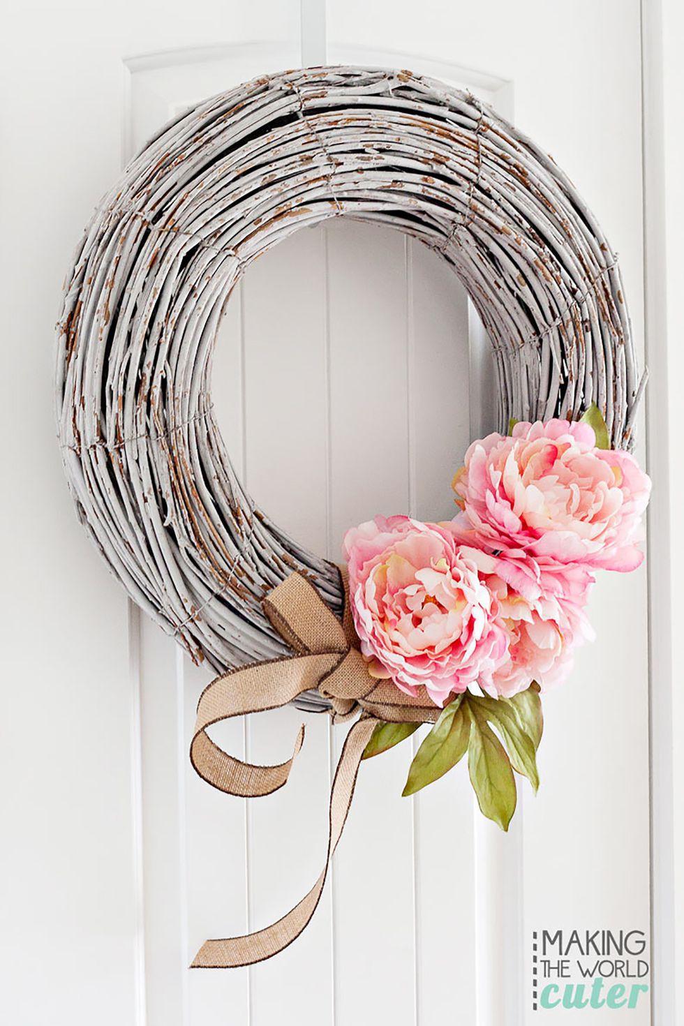 món đồ xinh xắn trang trí trước cửa nhà