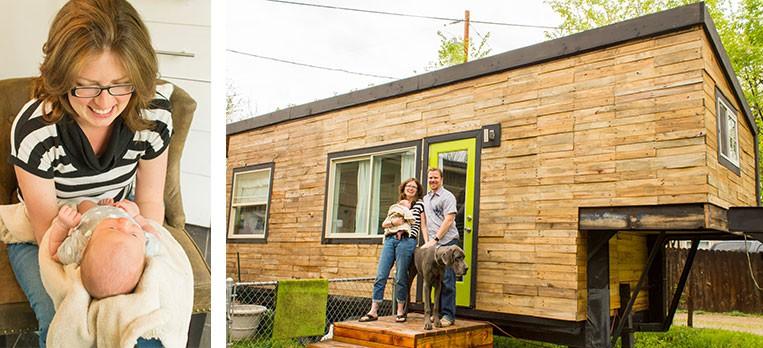 Ngôi nhà 19m2 tiện nghi và thoải mái cho gia đình 3 người sinh sống