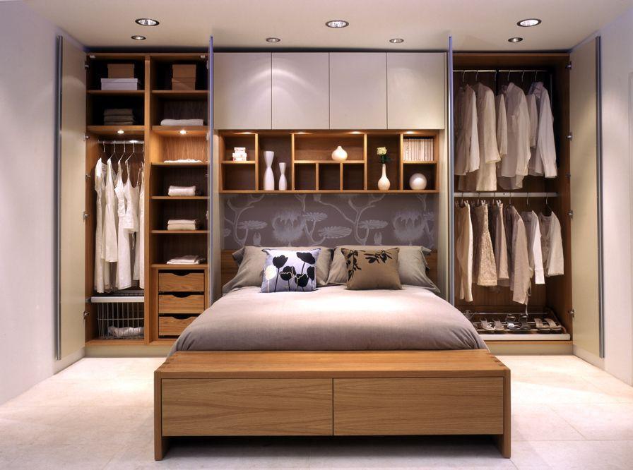 tủ quần áo kết hợp giường ngủ