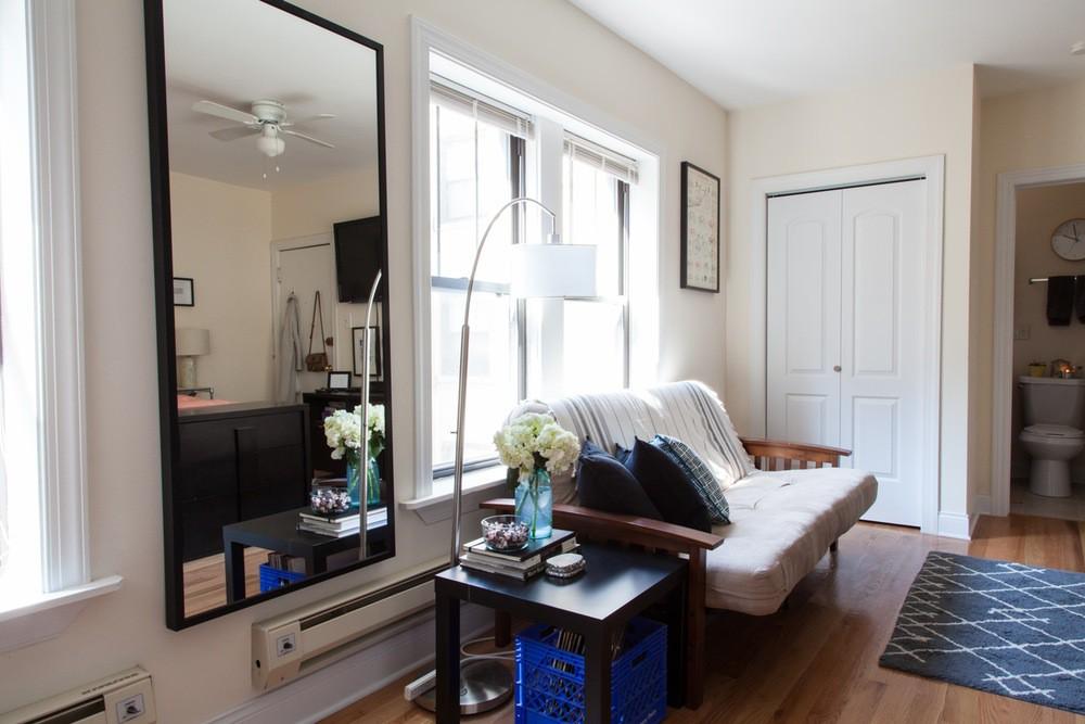 Cô nàng độc thân cải tạo thành công căn hộ 32m2 với một nửa diện tích là phòng bếp