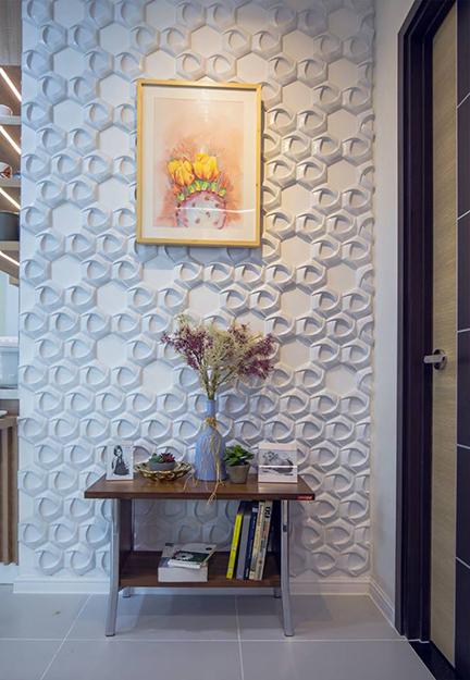 mảng tường tạo điểm nhấn