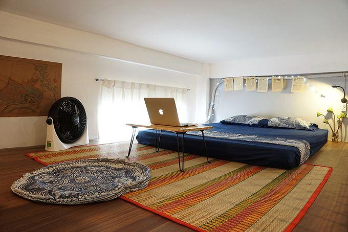 phòng ngủ rộng rãi