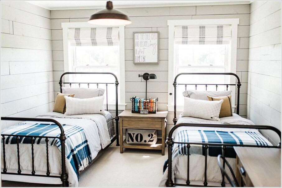 phòng ngủ cho hai bé trai