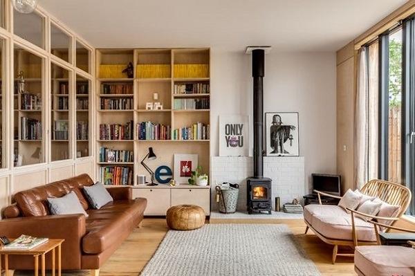 Ý tưởng bài trí ngôi nhà mùa đông theo phong cách Bắc Âu