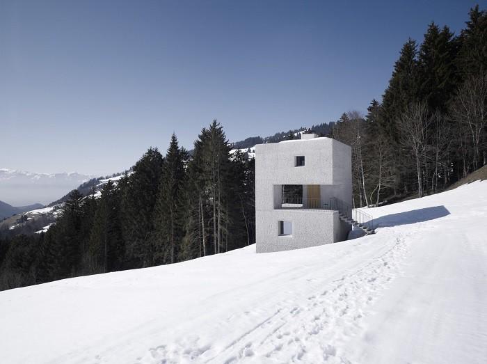 nhà trên núi