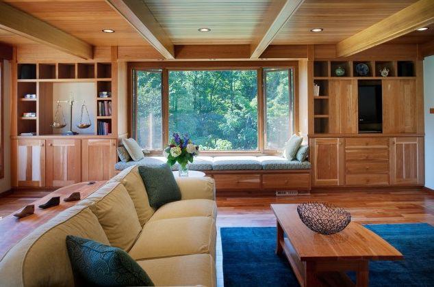 trần gỗ tinh tế