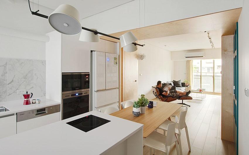 cải tạo căn hộ tập thể hơn 40 năm tuổi