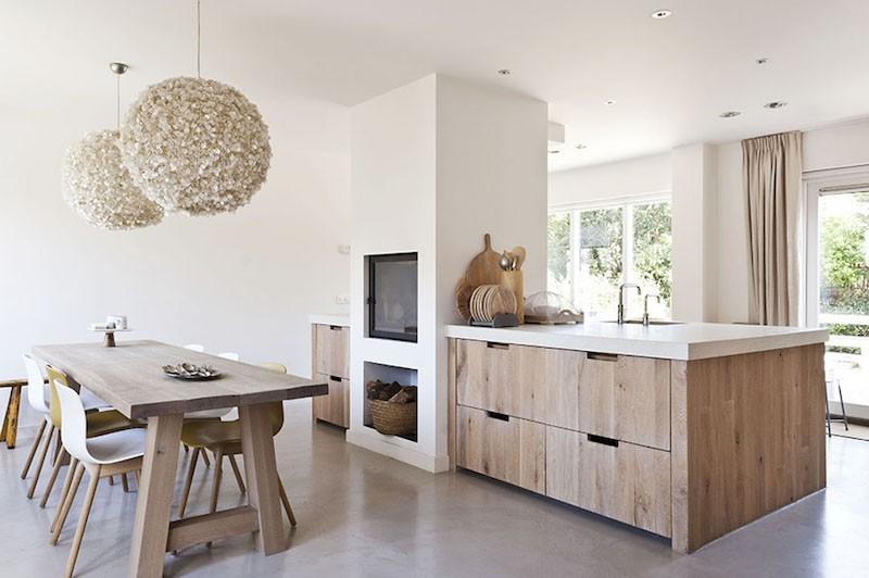 6 minh chứng cho thấy nội thất gỗ mộc là sự lựa chọn lý tưởng cho không gian nấu nướng