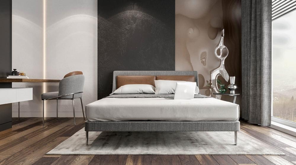 phòng ngủ có thiết kế đơn giản