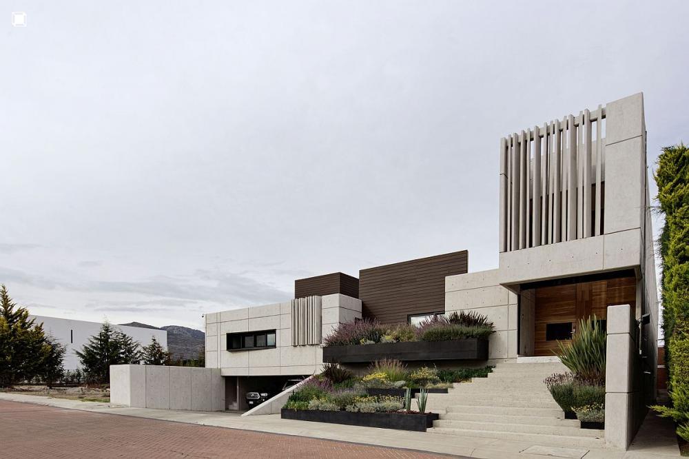 ngôi nhà có kiến trúc độc đáo
