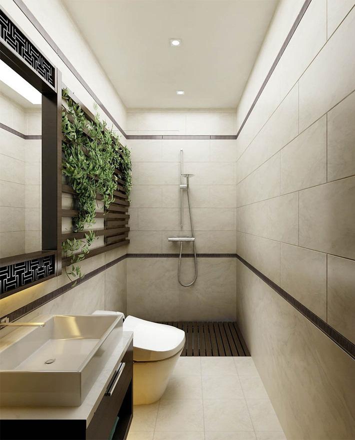 Phòng vệ sinh thoáng đãng