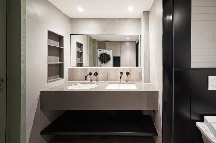 phòng tắm tiện nghi hiện đại