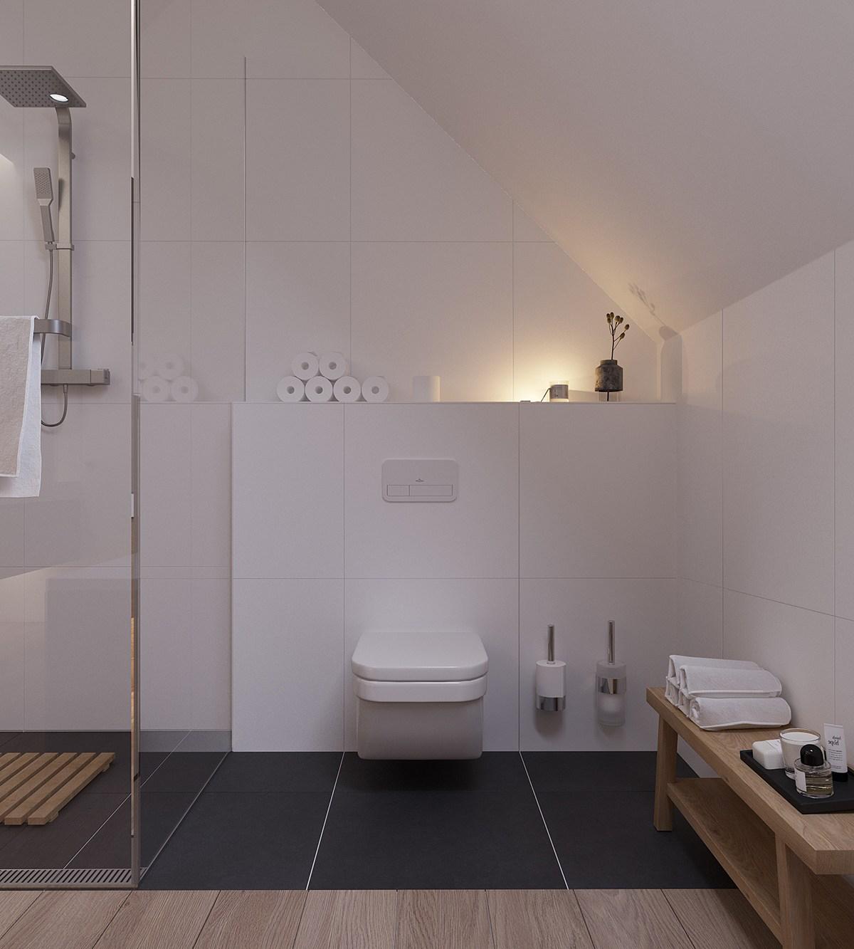 kệ gỗ phòng tắm